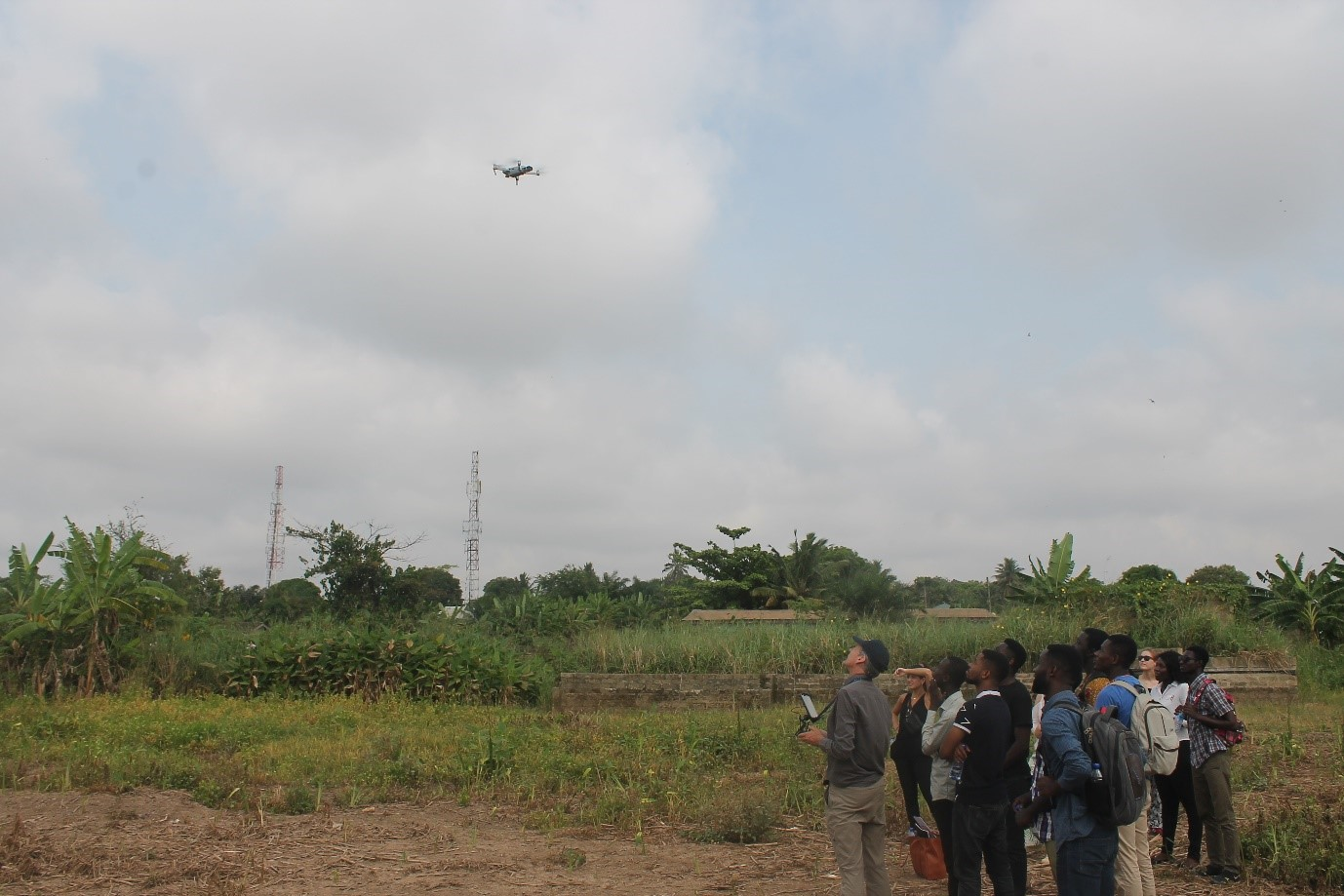 TWIGA drone flying in Kumasi 2018