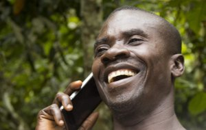 Mobile app services for farmers in Ghana through the TWIGA program