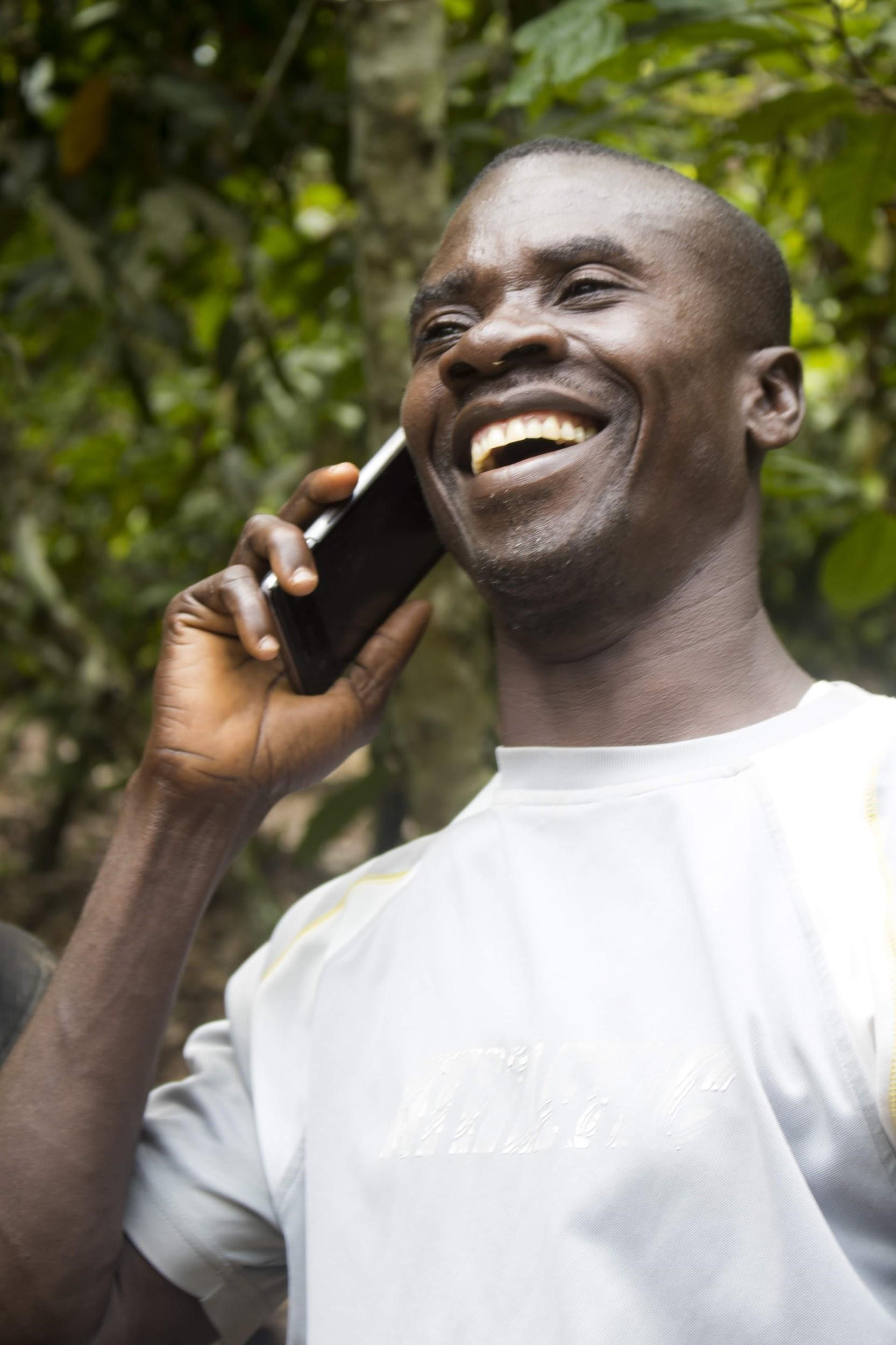 Farmers in Ghana use Mobile services to improve food security in the TWIGA program