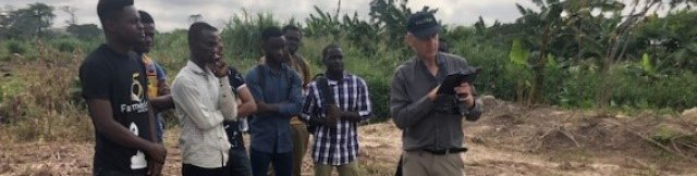 TWIGA drone training in Kumasi for farmers